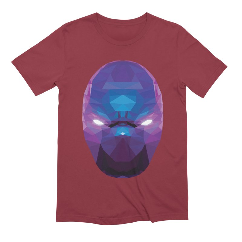 Low Poly Art - Enigma Men's Extra Soft T-Shirt by lowpolyart's Artist Shop