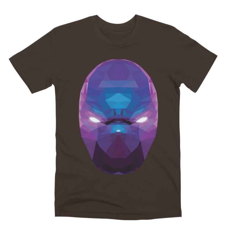 Low Poly Art - Enigma Men's Premium T-Shirt by lowpolyart's Artist Shop