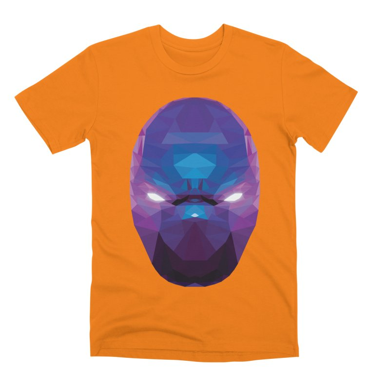 Low Poly Art - Enigma Men's Premium T-Shirt by lowpolyart's Artist Shop