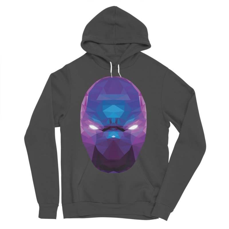 Low Poly Art - Enigma Women's Sponge Fleece Pullover Hoody by lowpolyart's Artist Shop