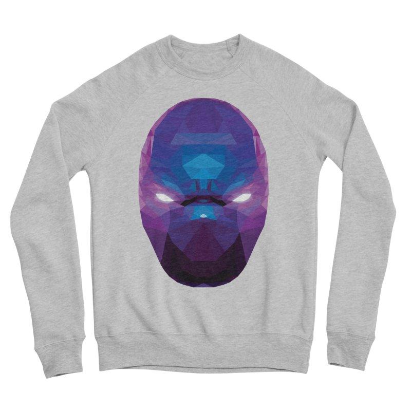 Low Poly Art - Enigma Men's Sponge Fleece Sweatshirt by lowpolyart's Artist Shop
