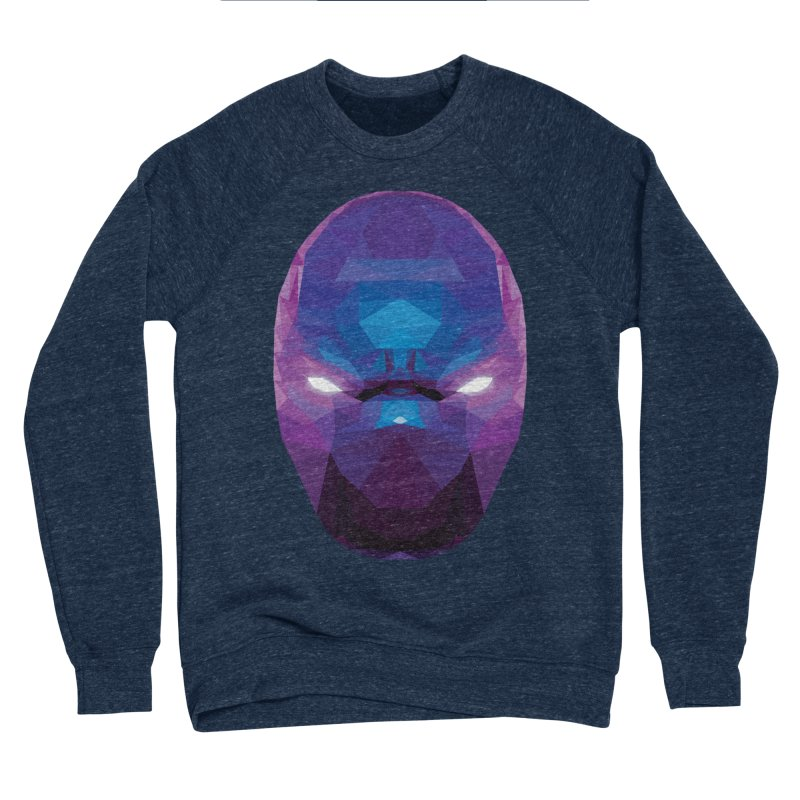 Low Poly Art - Enigma Men's Sponge Fleece Sweatshirt by lowpolyart's Artist Shop