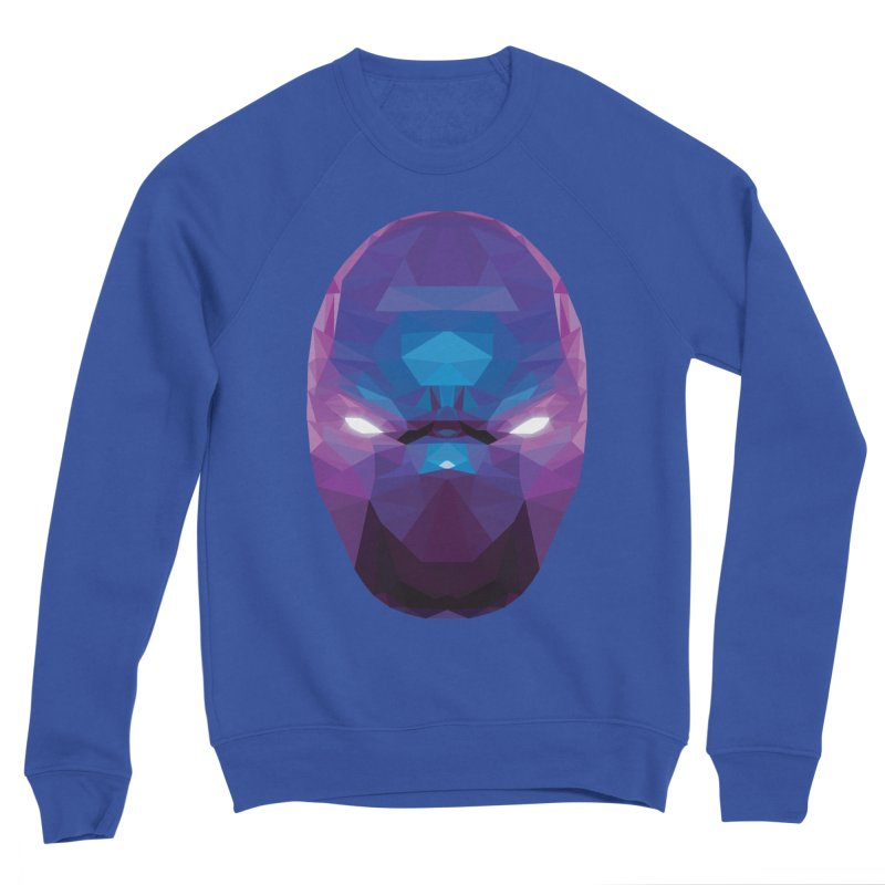 Low Poly Art - Enigma Women's Sponge Fleece Sweatshirt by lowpolyart's Artist Shop