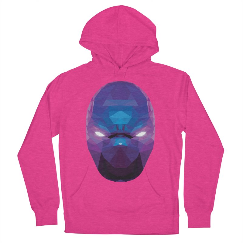 Low Poly Art - Enigma Women's French Terry Pullover Hoody by lowpolyart's Artist Shop