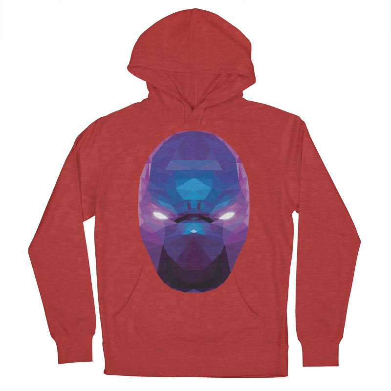 Low Poly Art - Enigma Men's French Terry Pullover Hoody by lowpolyart's Artist Shop