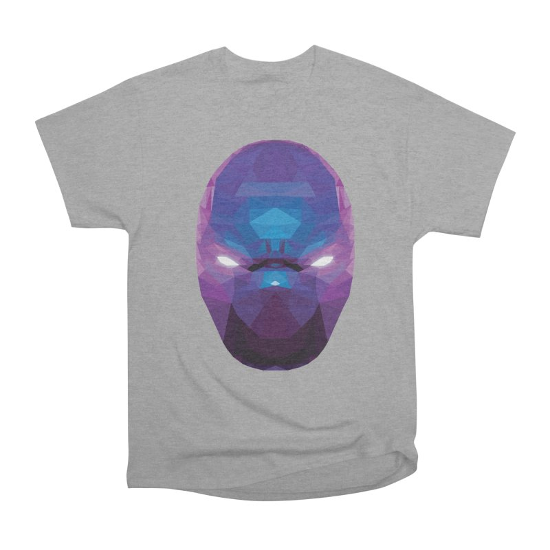 Low Poly Art - Enigma Women's Heavyweight Unisex T-Shirt by lowpolyart's Artist Shop