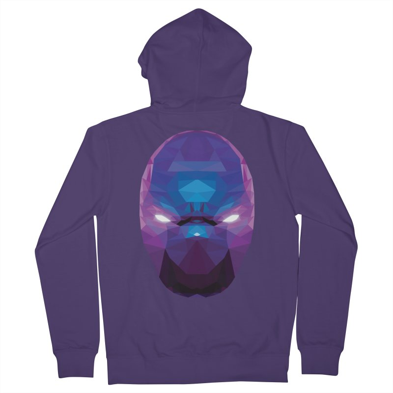 Low Poly Art - Enigma Women's French Terry Zip-Up Hoody by lowpolyart's Artist Shop