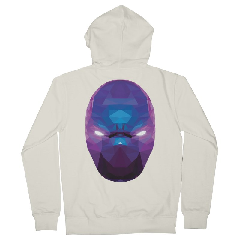 Low Poly Art - Enigma Men's French Terry Zip-Up Hoody by lowpolyart's Artist Shop