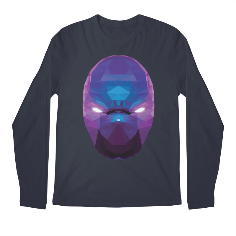 Low Poly Art - Enigma Men's Regular Longsleeve T-Shirt by lowpolyart's Artist Shop