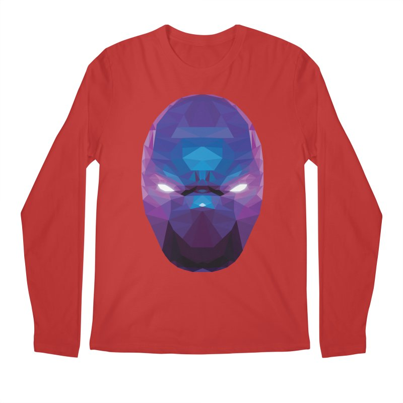 Low Poly Art - Enigma Men's Regular Longsleeve T-Shirt by lowpolyart's Artist Shop