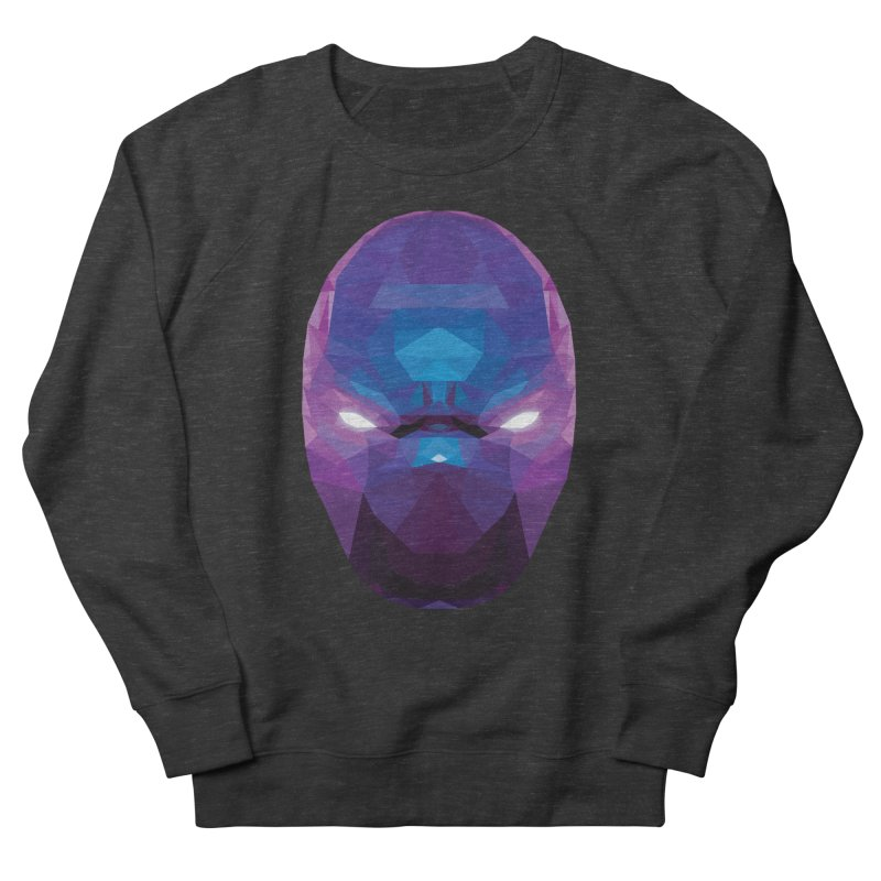 Low Poly Art - Enigma Women's French Terry Sweatshirt by lowpolyart's Artist Shop