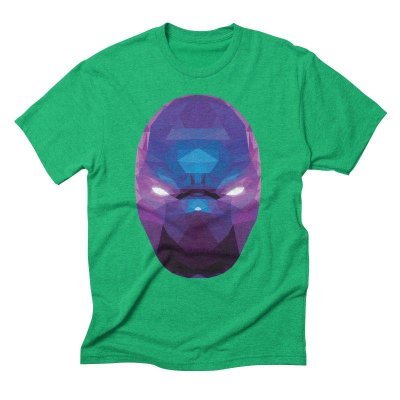 Low Poly Art - Enigma Men's Triblend T-Shirt by lowpolyart's Artist Shop
