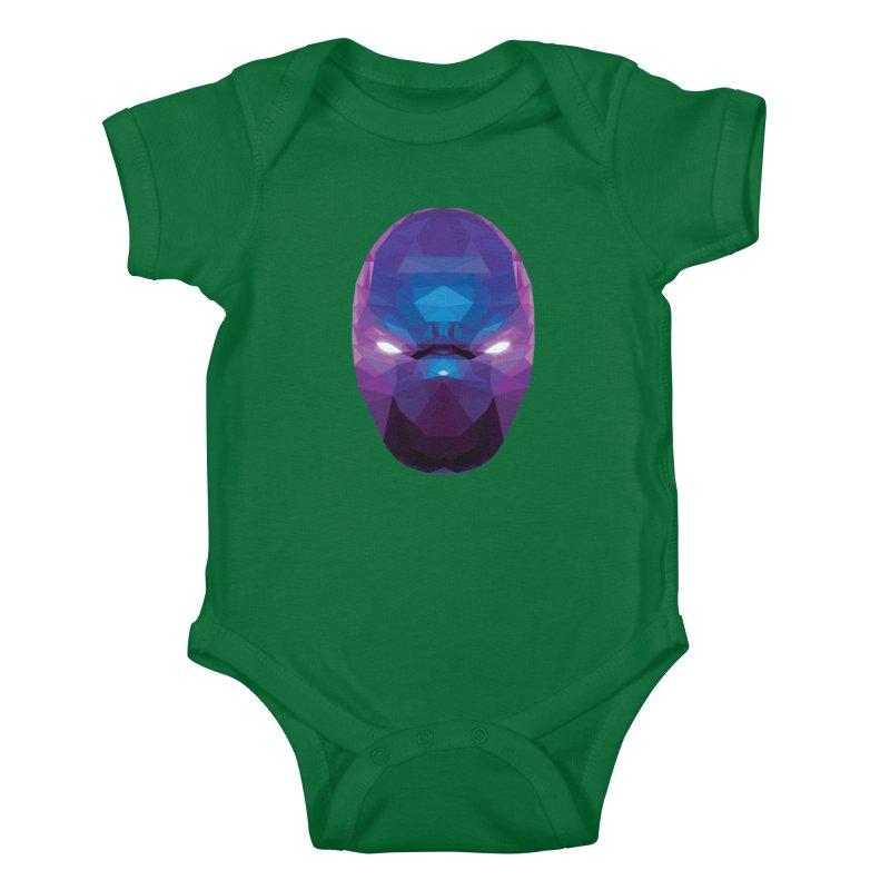 Low Poly Art - Enigma Kids Baby Bodysuit by lowpolyart's Artist Shop