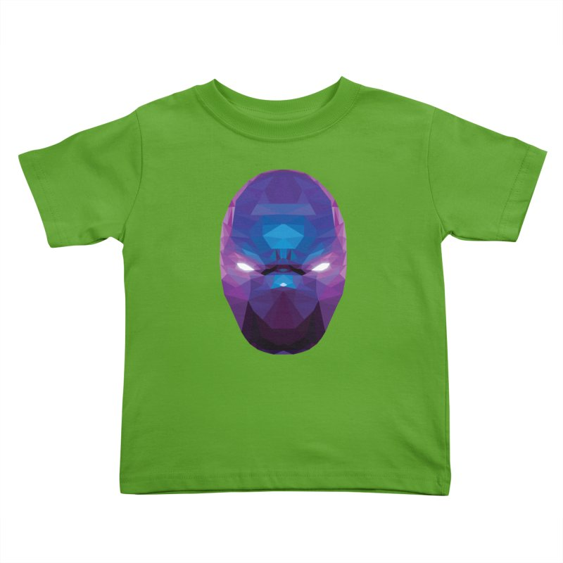 Low Poly Art - Enigma Kids Toddler T-Shirt by lowpolyart's Artist Shop