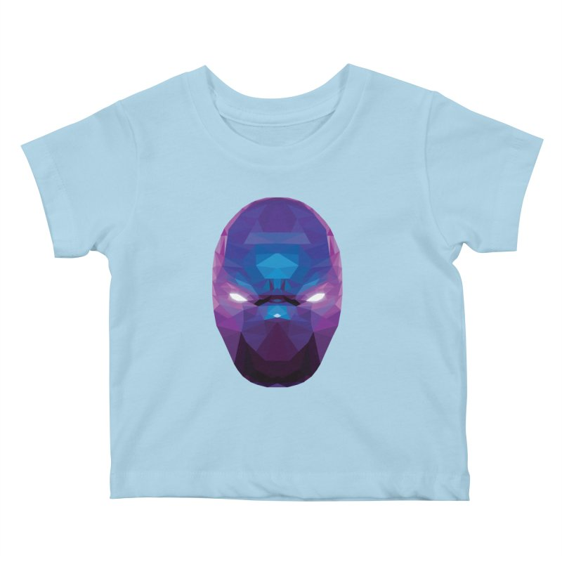 Low Poly Art - Enigma Kids Baby T-Shirt by lowpolyart's Artist Shop