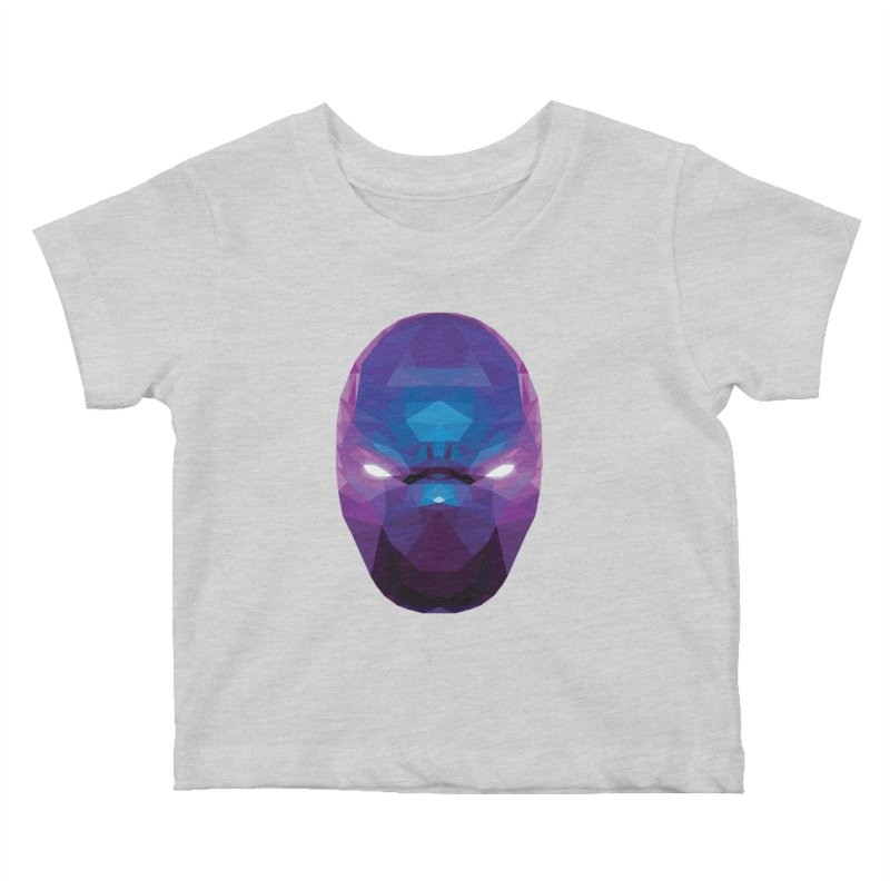 Low Poly Art - Enigma Kids Baby T-Shirt by lowpolyart's Artist Shop