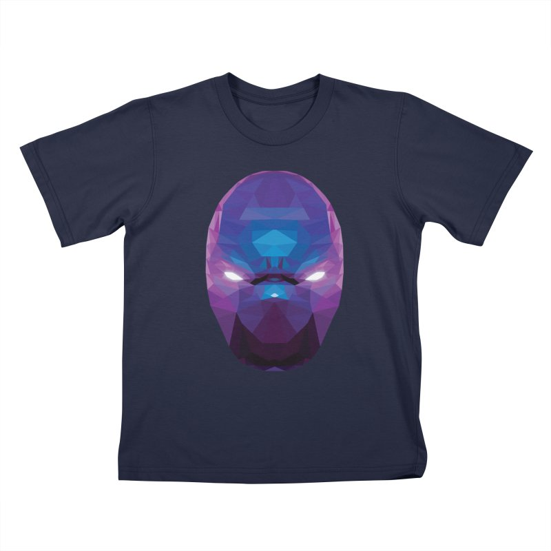Low Poly Art - Enigma Kids T-Shirt by lowpolyart's Artist Shop