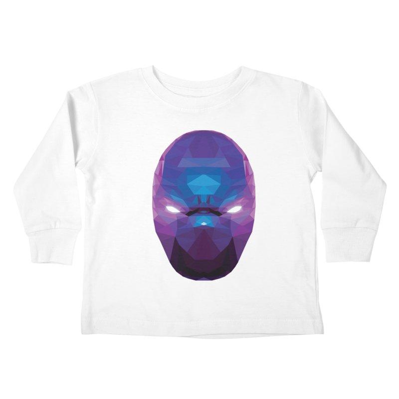 Low Poly Art - Enigma Kids Toddler Longsleeve T-Shirt by lowpolyart's Artist Shop