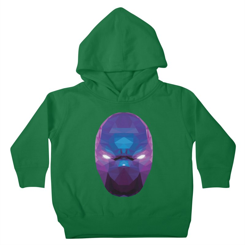 Low Poly Art - Enigma Kids Toddler Pullover Hoody by lowpolyart's Artist Shop