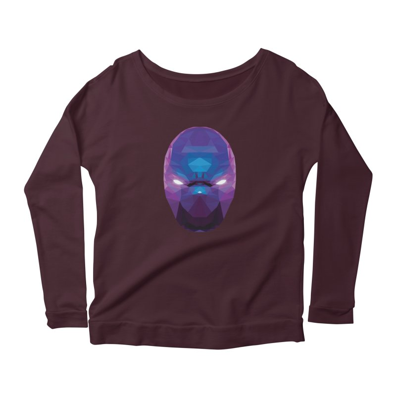 Low Poly Art - Enigma Women's Longsleeve T-Shirt by lowpolyart's Artist Shop