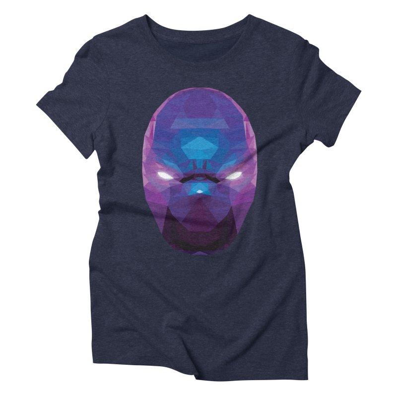 Low Poly Art - Enigma Women's Triblend T-Shirt by lowpolyart's Artist Shop