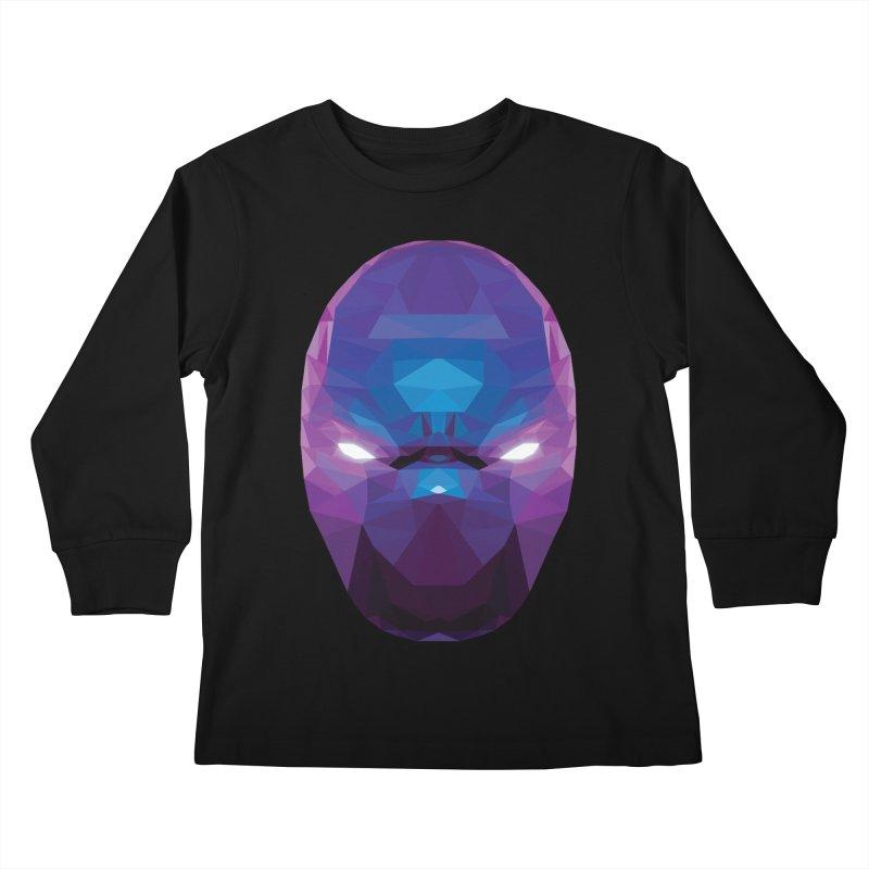 Low Poly Art - Enigma Kids Longsleeve T-Shirt by lowpolyart's Artist Shop