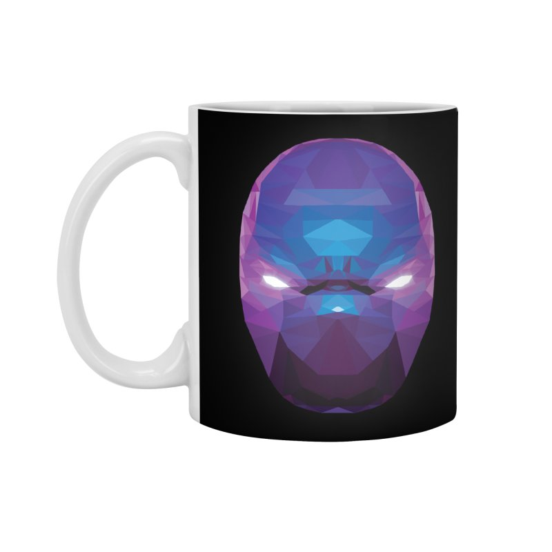 Low Poly Art - Enigma Accessories Standard Mug by lowpolyart's Artist Shop