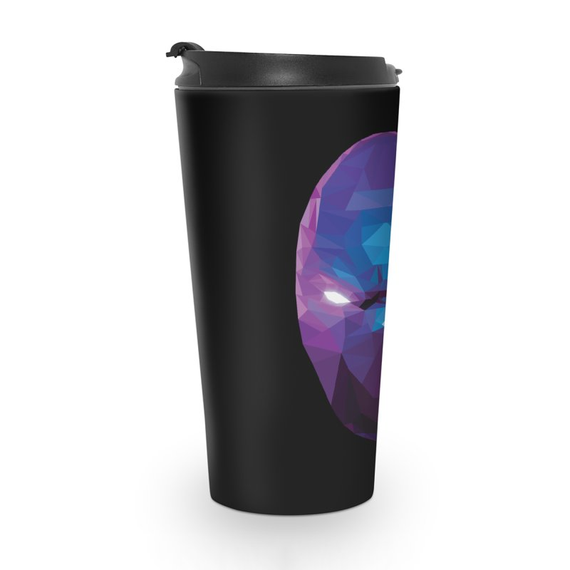 Low Poly Art - Enigma Accessories Travel Mug by lowpolyart's Artist Shop