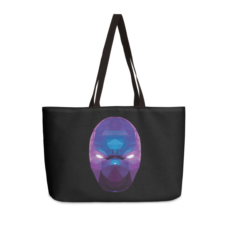 Low Poly Art - Enigma Accessories Weekender Bag Bag by lowpolyart's Artist Shop