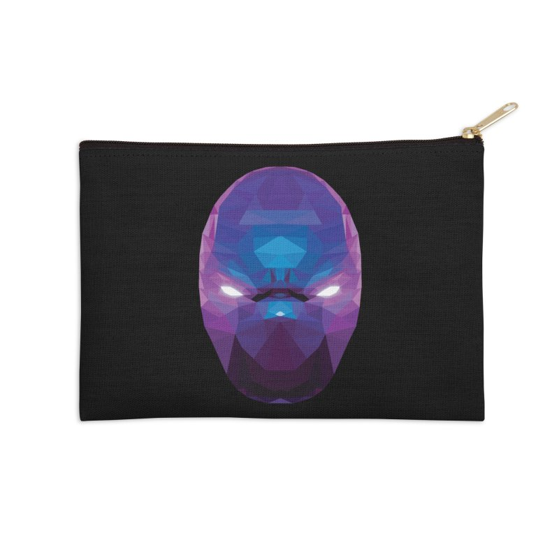 Low Poly Art - Enigma Accessories Zip Pouch by lowpolyart's Artist Shop