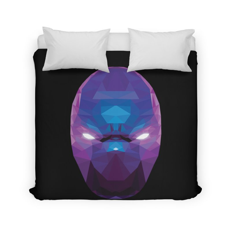 Low Poly Art - Enigma Home Duvet by lowpolyart's Artist Shop