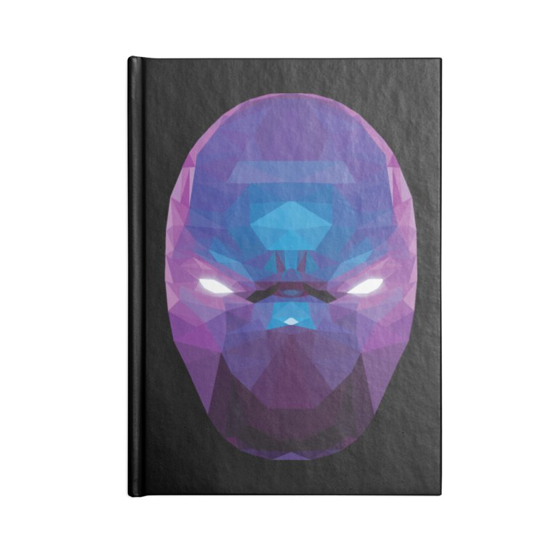 Low Poly Art - Enigma Accessories Blank Journal Notebook by lowpolyart's Artist Shop