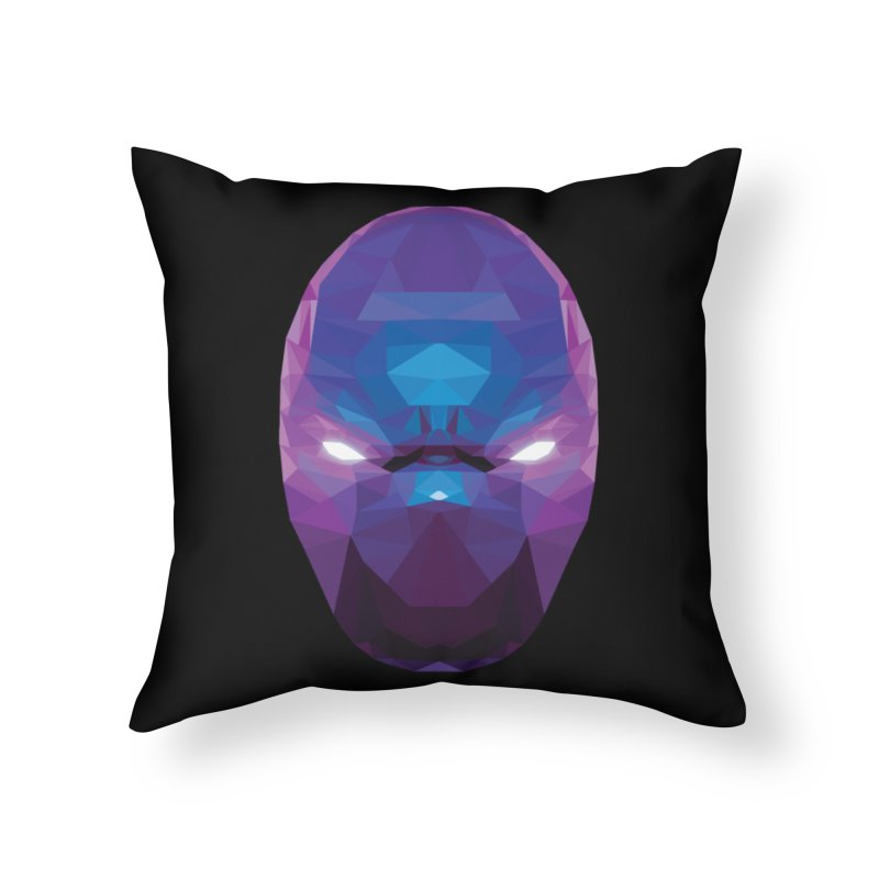 Low Poly Art - Enigma Home Throw Pillow by lowpolyart's Artist Shop