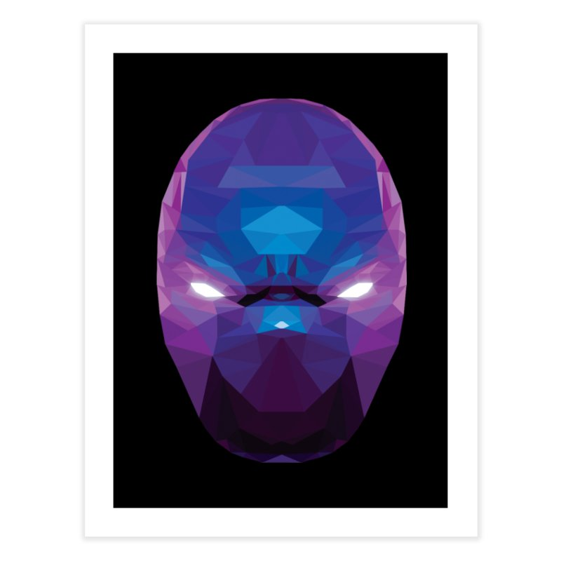 Low Poly Art - Enigma Home Fine Art Print by lowpolyart's Artist Shop