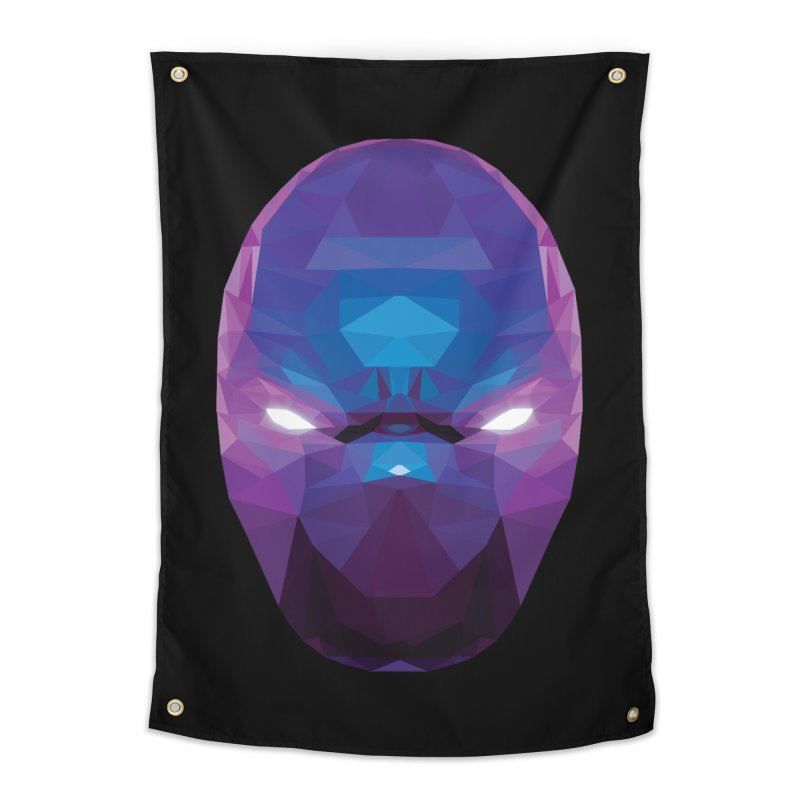 Low Poly Art - Enigma Home Tapestry by lowpolyart's Artist Shop
