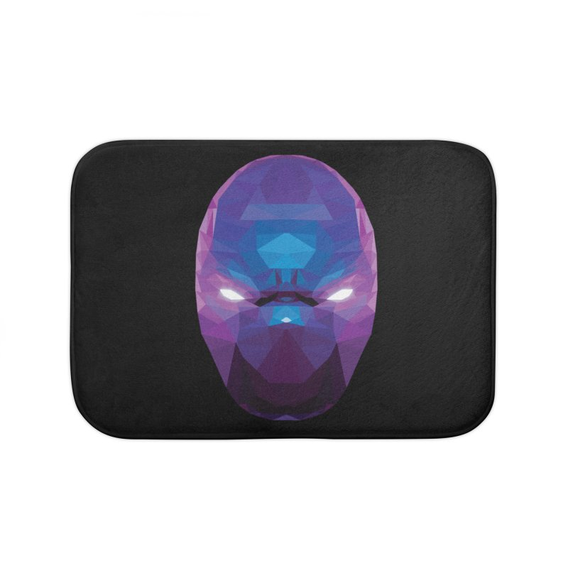 Low Poly Art - Enigma Home Bath Mat by lowpolyart's Artist Shop