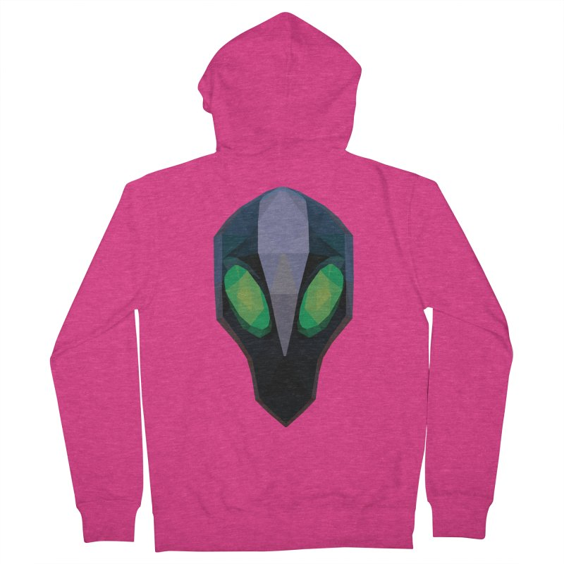 Low Poly Art - Rubick Women's French Terry Zip-Up Hoody by lowpolyart's Artist Shop