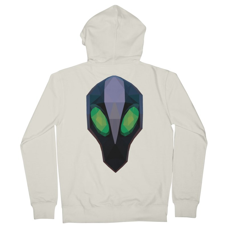 Low Poly Art - Rubick Men's French Terry Zip-Up Hoody by lowpolyart's Artist Shop