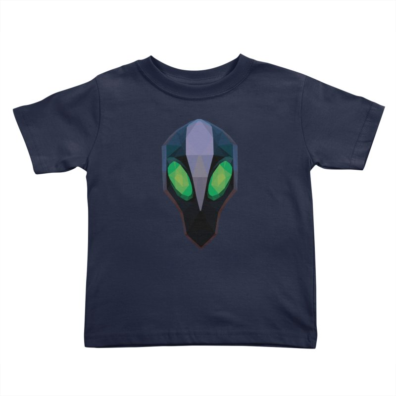 Low Poly Art - Rubick Kids Toddler T-Shirt by lowpolyart's Artist Shop