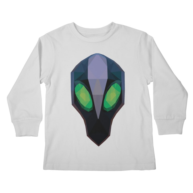 Low Poly Art - Rubick Kids Longsleeve T-Shirt by lowpolyart's Artist Shop