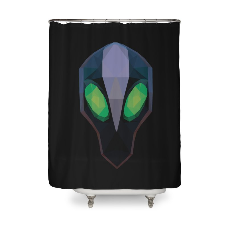 Low Poly Art - Rubick Home Shower Curtain by lowpolyart's Artist Shop