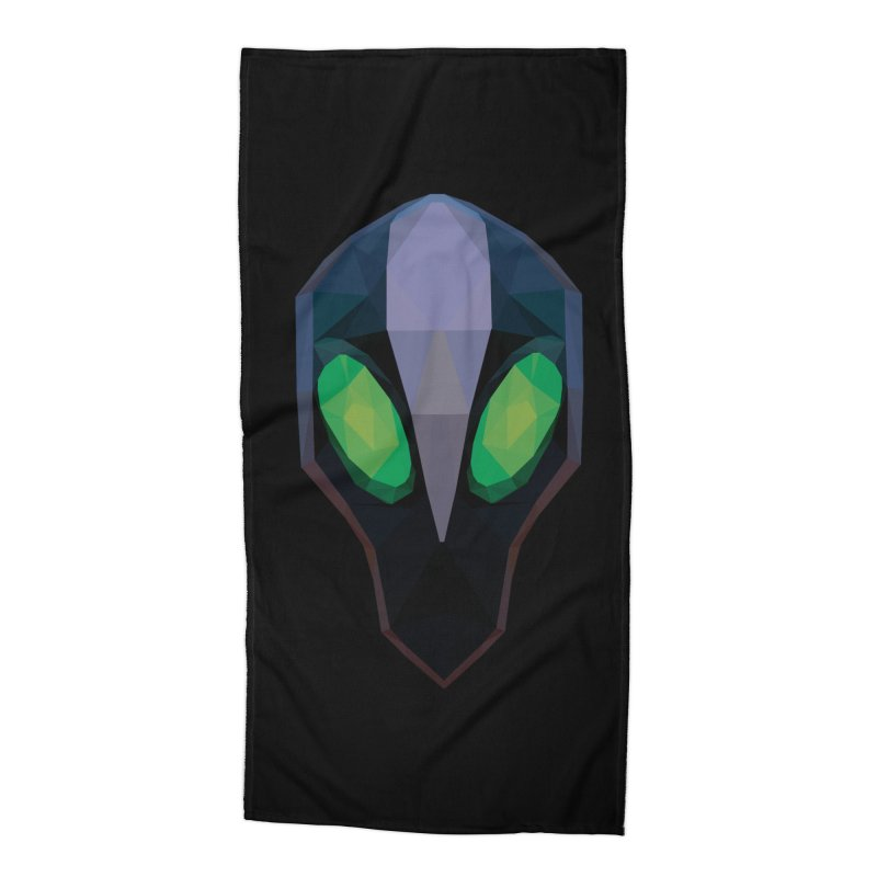 Low Poly Art - Rubick Accessories Beach Towel by lowpolyart's Artist Shop