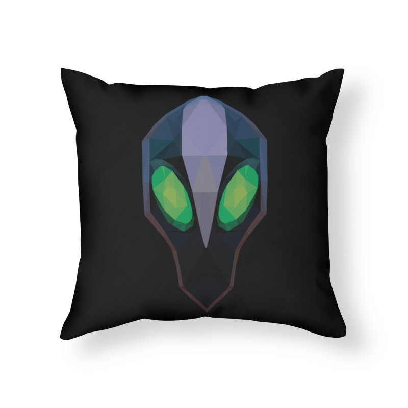 Low Poly Art - Rubick Home Throw Pillow by lowpolyart's Artist Shop