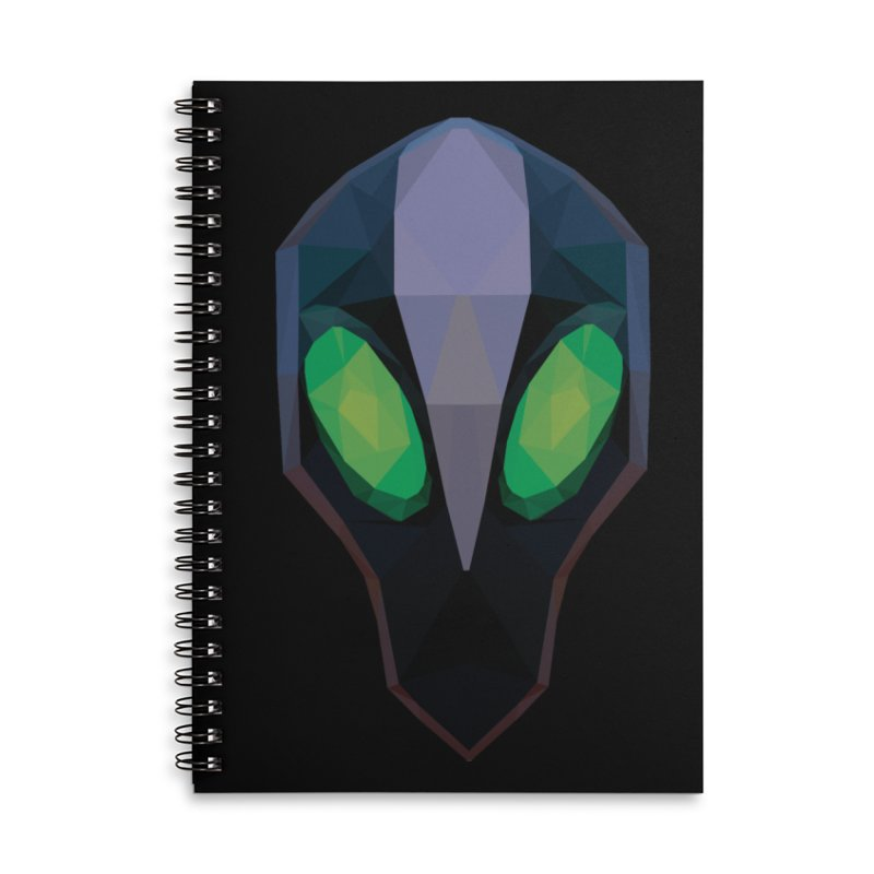 Low Poly Art - Rubick Accessories Lined Spiral Notebook by lowpolyart's Artist Shop