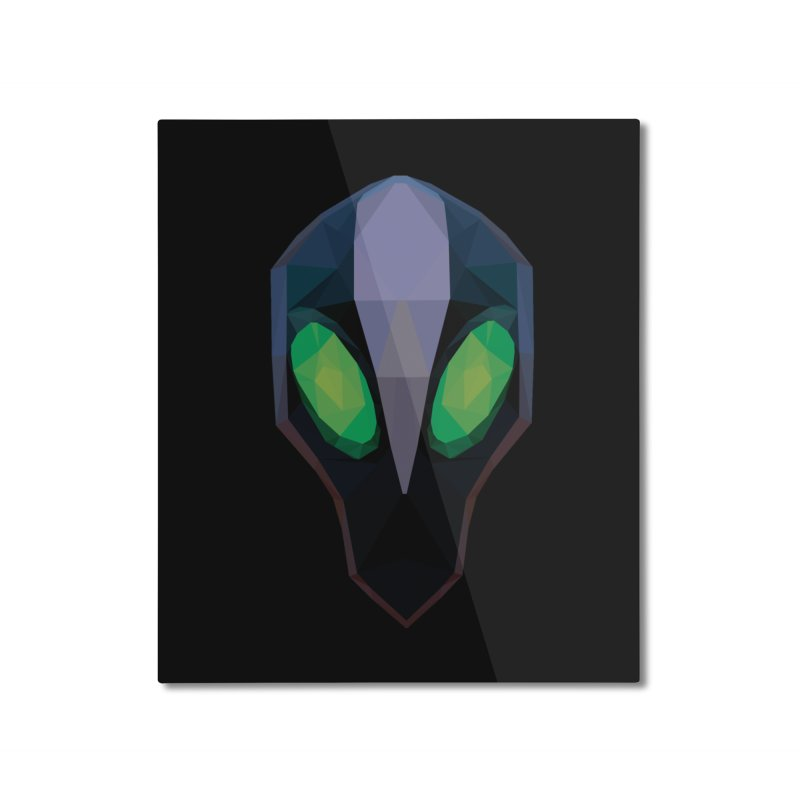 Low Poly Art - Rubick Home Mounted Aluminum Print by lowpolyart's Artist Shop