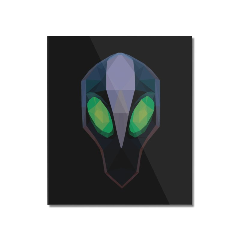 Low Poly Art - Rubick Home Mounted Acrylic Print by lowpolyart's Artist Shop