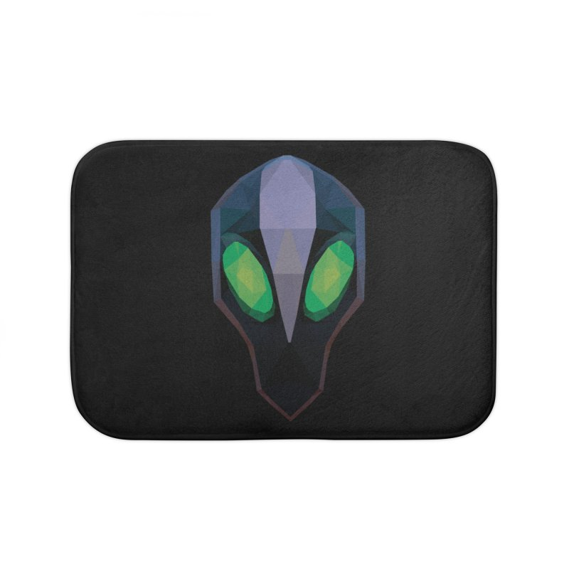 Low Poly Art - Rubick Home Bath Mat by lowpolyart's Artist Shop