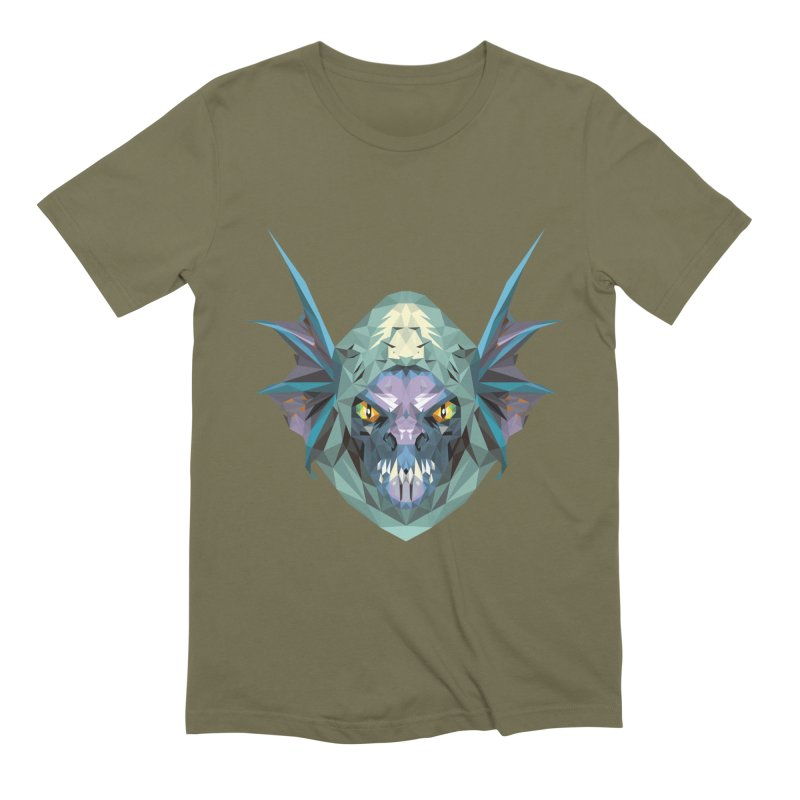 Low Poly Art - Slark Men's T-Shirt by lowpolyart's Artist Shop