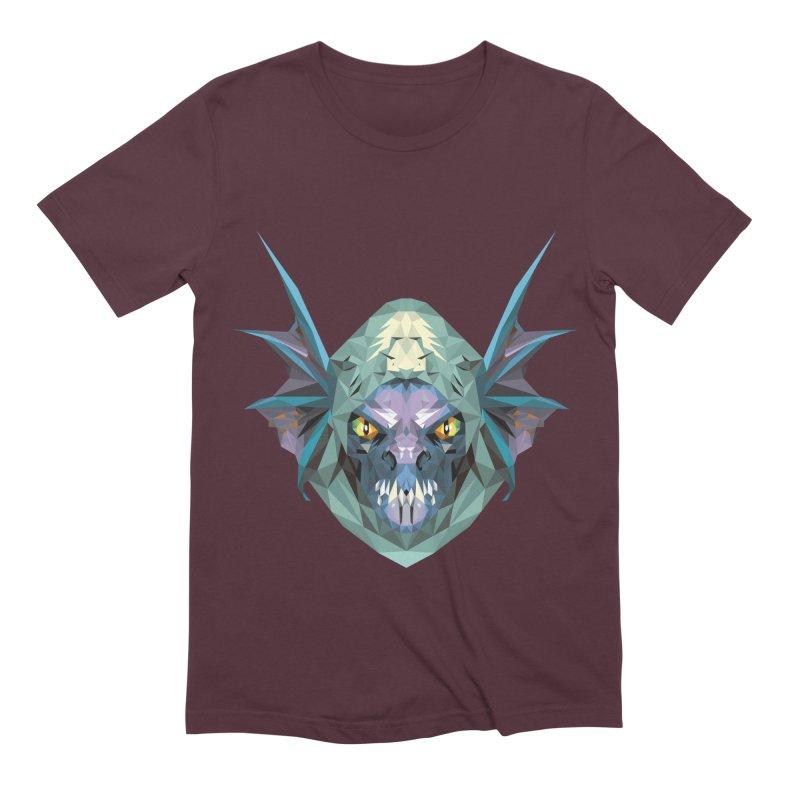 Low Poly Art - Slark Men's Extra Soft T-Shirt by lowpolyart's Artist Shop