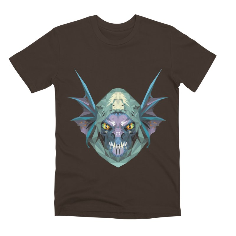 Low Poly Art - Slark Men's Premium T-Shirt by lowpolyart's Artist Shop